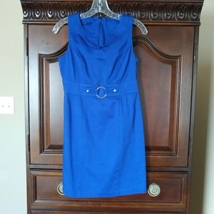 AGB 4 Petite Royal Blue Sleeveless 👗 Dress